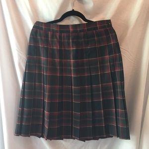 Requirements Retro Plaid Skirt